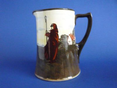 Royal Doulton 'Farmworkers - Shepherd' Series Ware Corinth Jug D3356 c1915 (Sold)